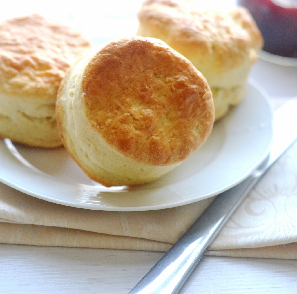 Rich Buttermilk Scones