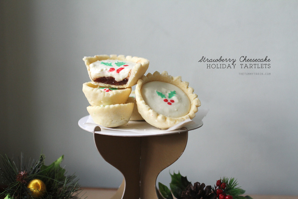 The cutest holiday tarts I ever did see!