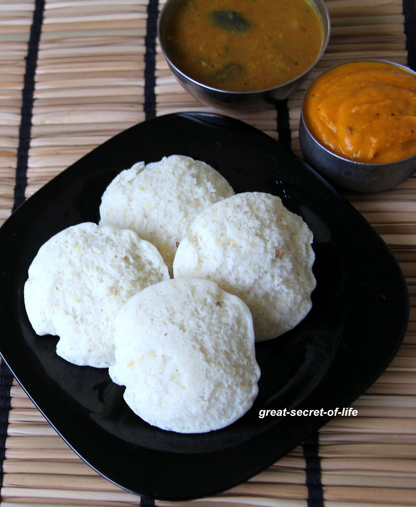 Chana dal idli recipe - Split bengal gram dhal idli recipe - Healthy breakfast recipe - Healthy dinner recipe
