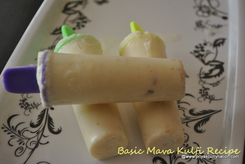 how to make kulfi with condensed milk