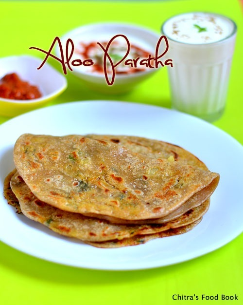 Punjabi Aloo Paratha Recipe-Stuffed Potato Paratha Recipe