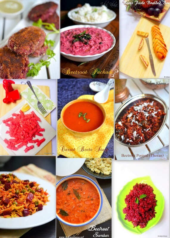 Beeroot Recipes Collection | Beetroot Recipes