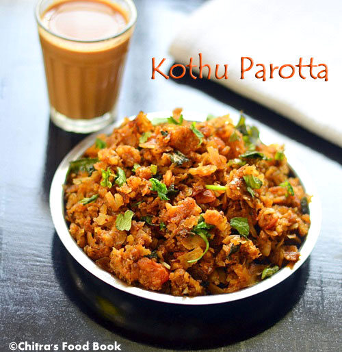 Kothu Parotta Recipe-Vegetarian|Easy Dinner Recipes
