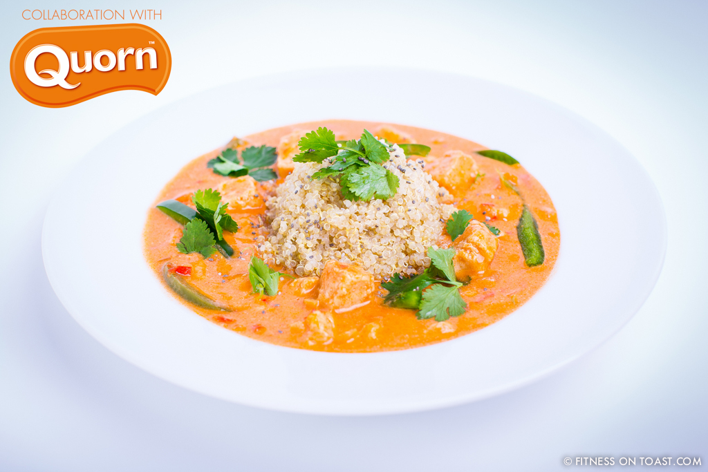 'QUORN CHICKEN KORMA' RECIPE !!!