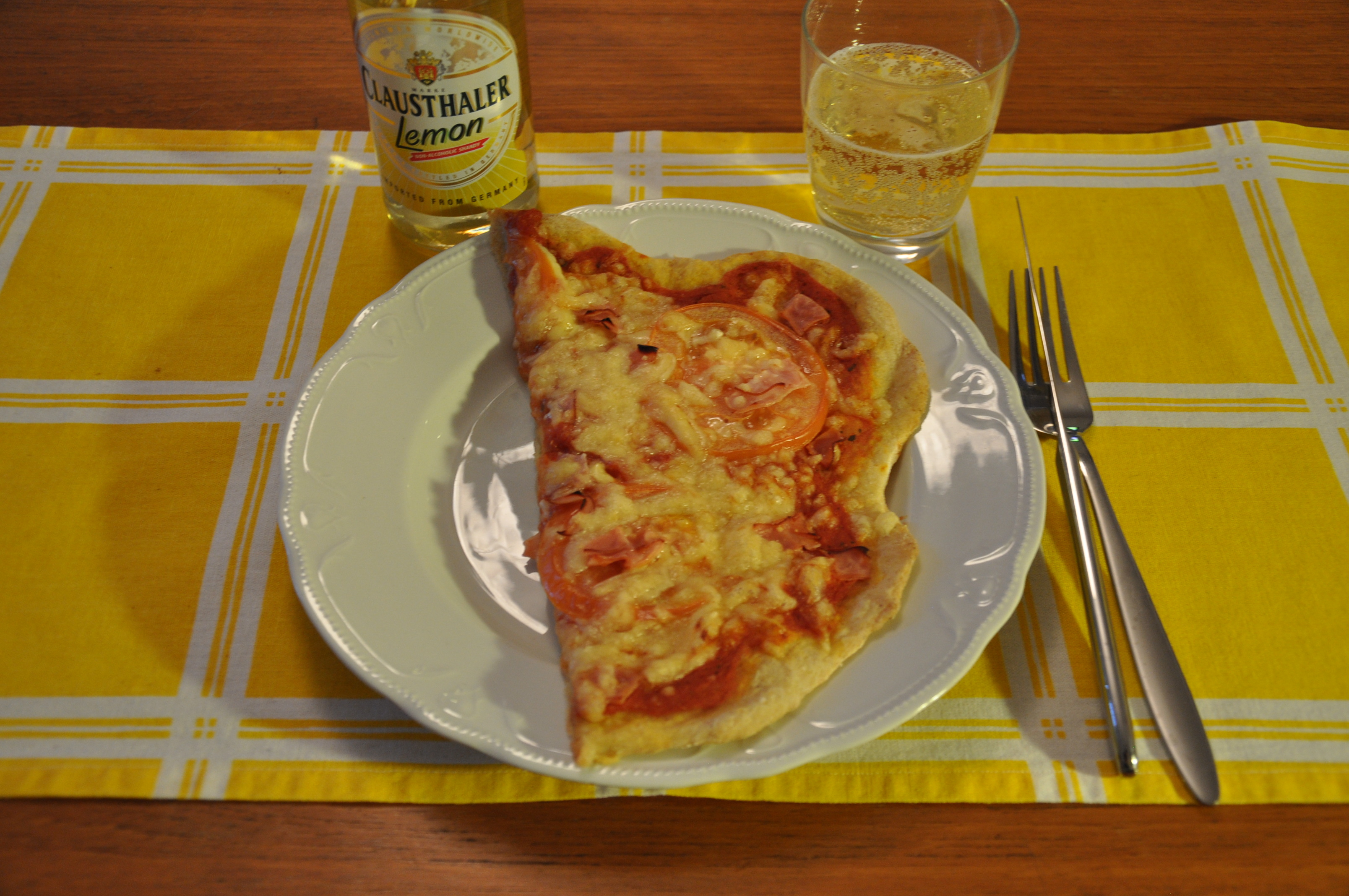 Vetefri pizzadeg