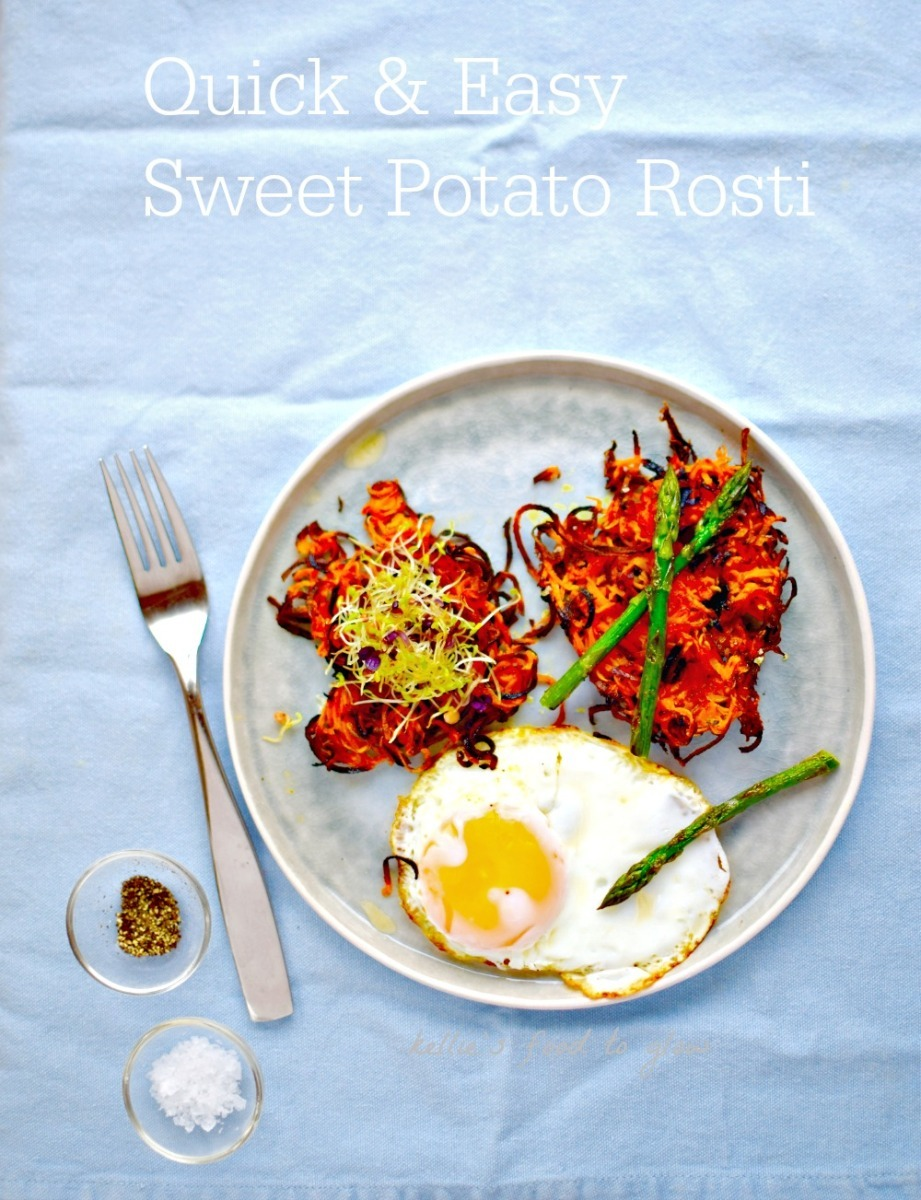 Quick & Easy Sweet Potato Rosti – in your waffle maker