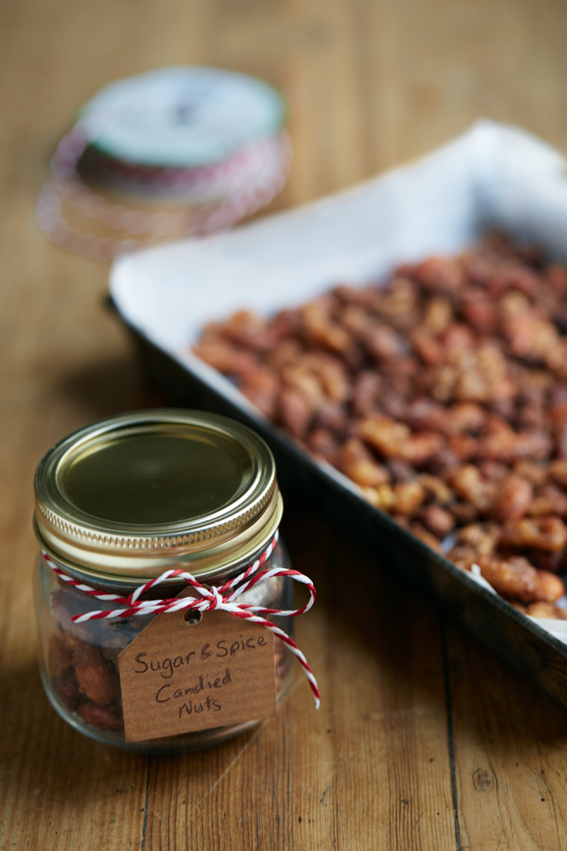 Sugar & Spice Candied Nuts