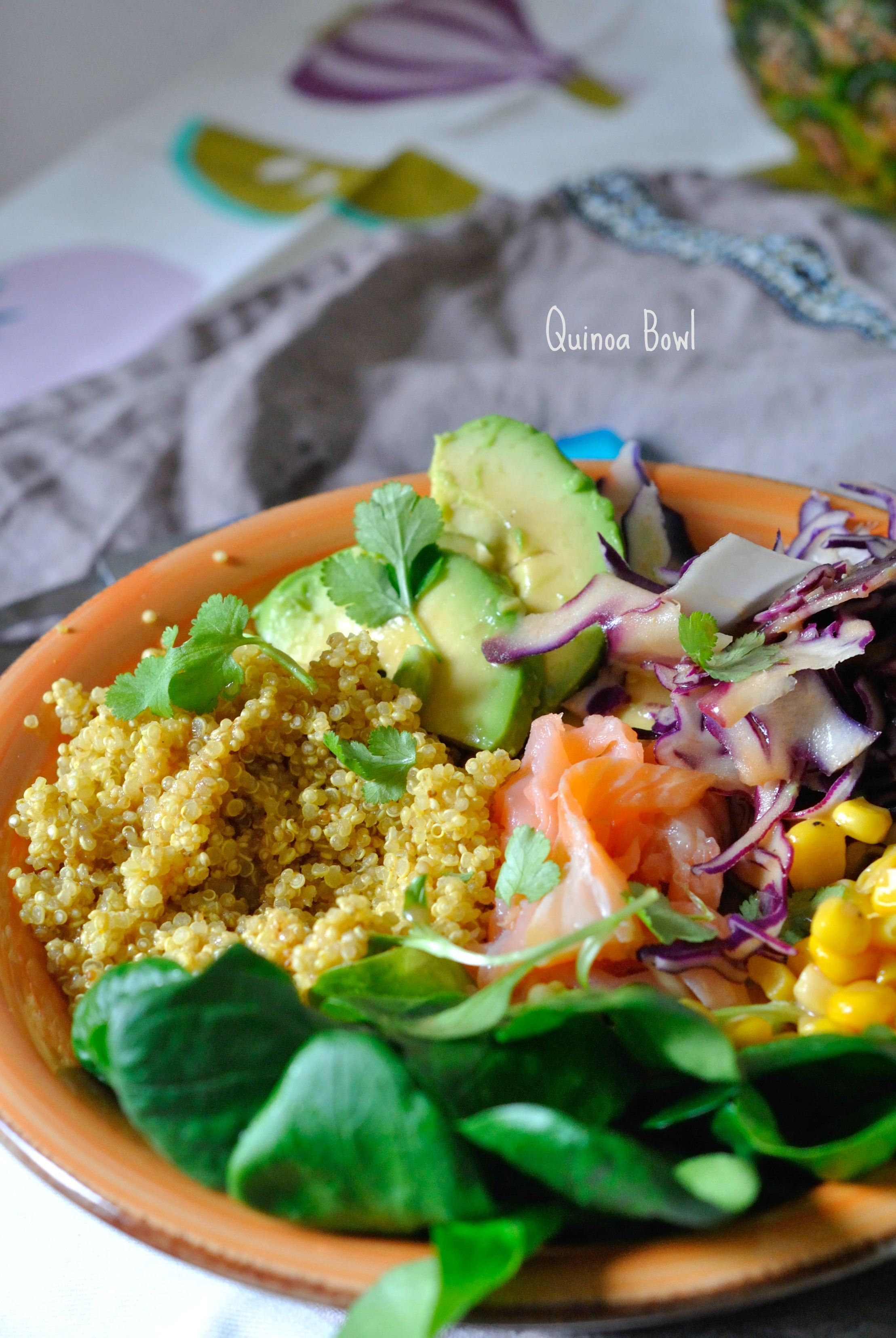 Quinoa Bowl super simple