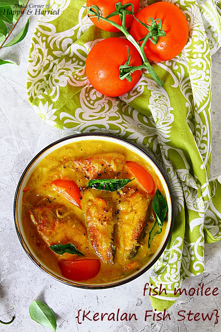 Fish Moilee {Keralan Fish Stew}