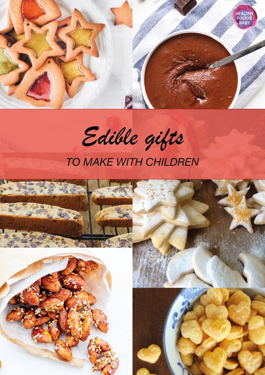 Edible gifts to make with children