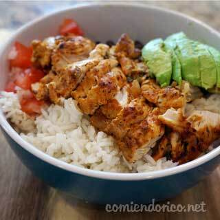 Chicken Bowl – Comiendo Rico – Video