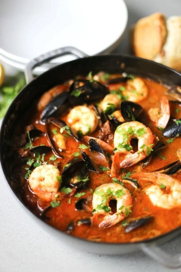 Summer Seafood StewJump to Recipe