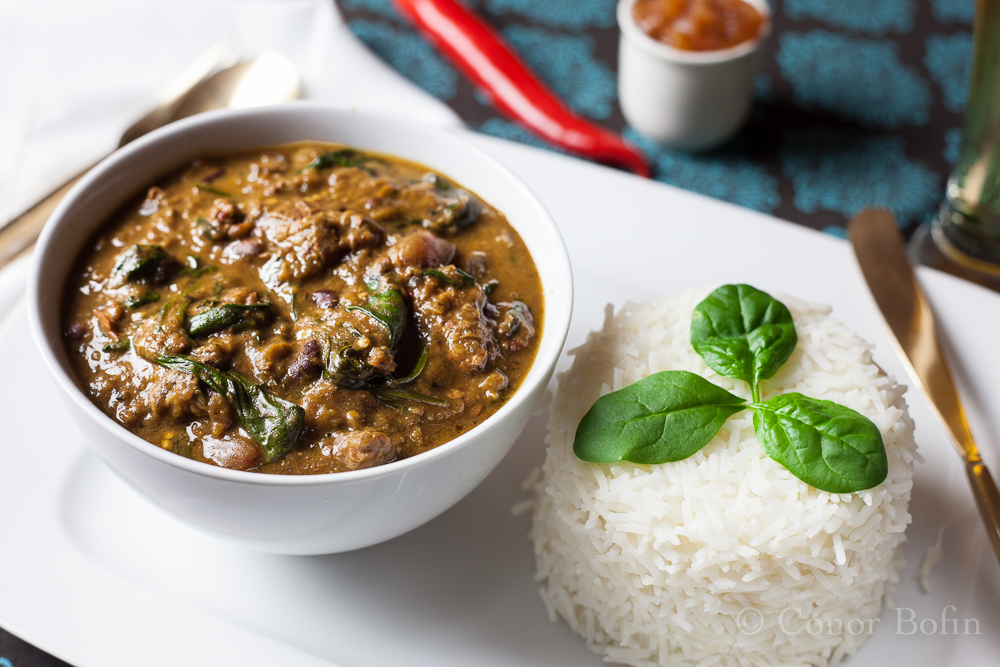 Mild Mannered Lamb and Aubergine Curry With A Flavour Hit