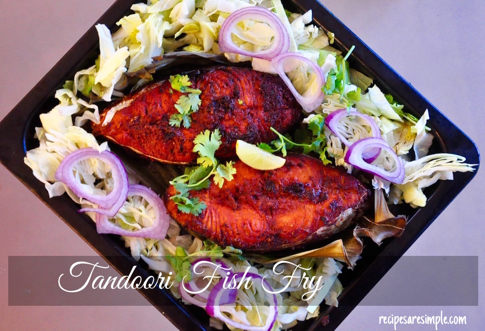 Tandoori Fish Fry | Fish Fried with Tandoori Masala