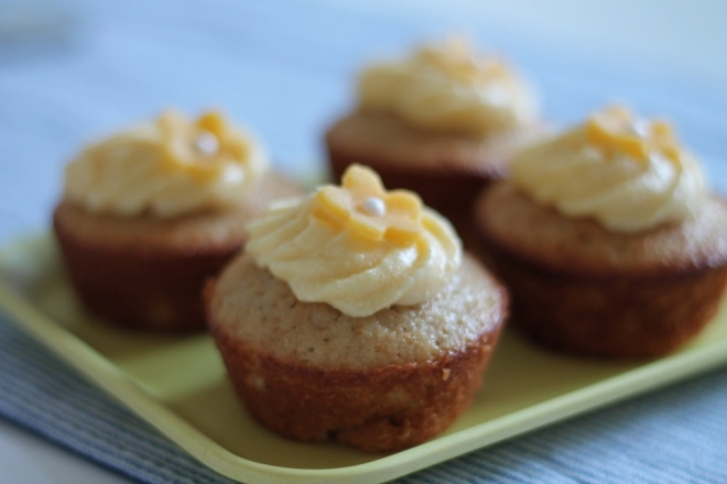 Earl Grey Cupcakes med citronfrosting
