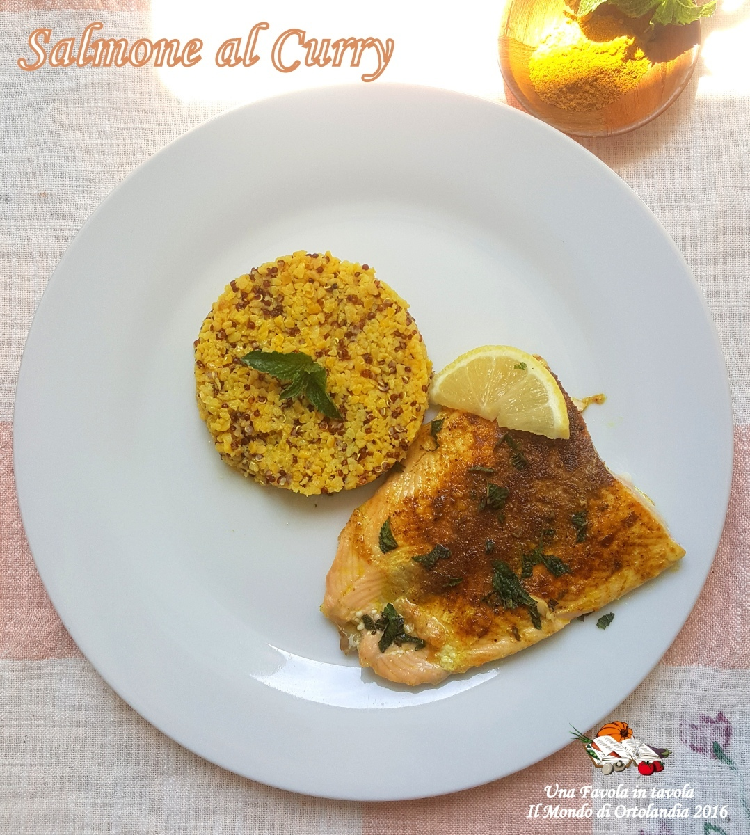 Filetto di Salmone al Curry: stimoliamo il metabolismo pt.15