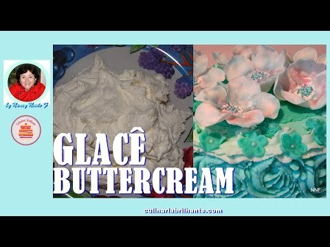 Glacê buttercream receita - Buttercream Frosting Recipe