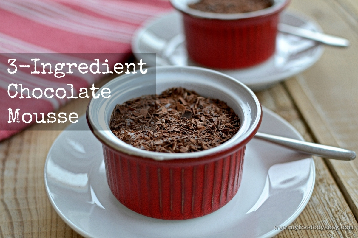 3-Ingredient Chocolate Mousse [Recipe]