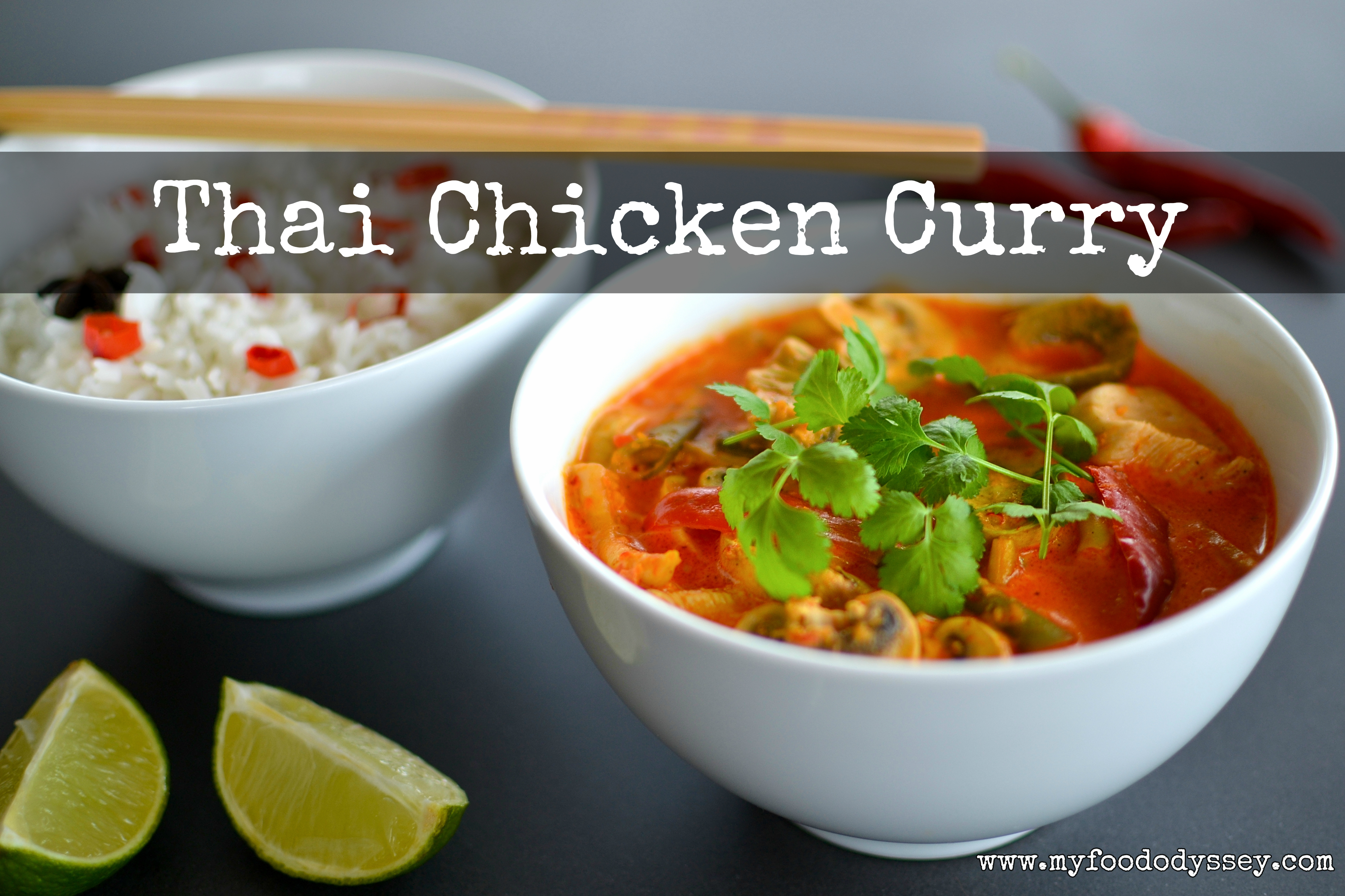 Thai Chicken Curry [Recipe]