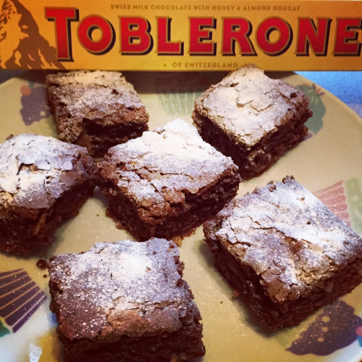 Almond & Toblerone Brownies