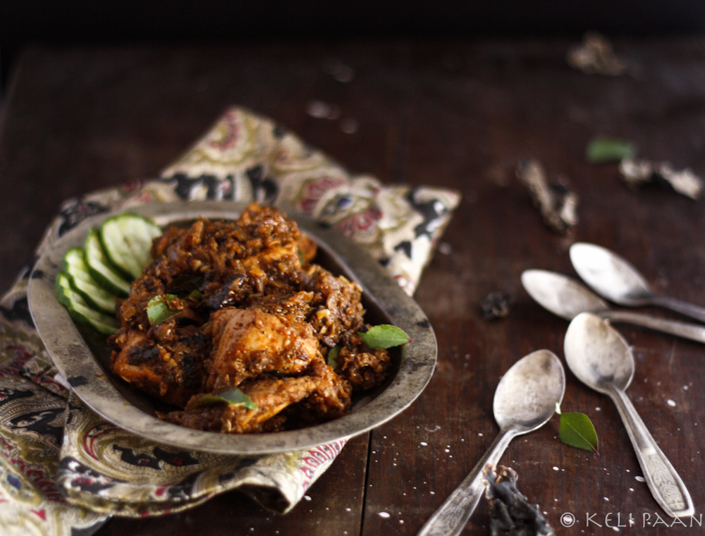 My take on Rick Steins Chettinad Chicken……