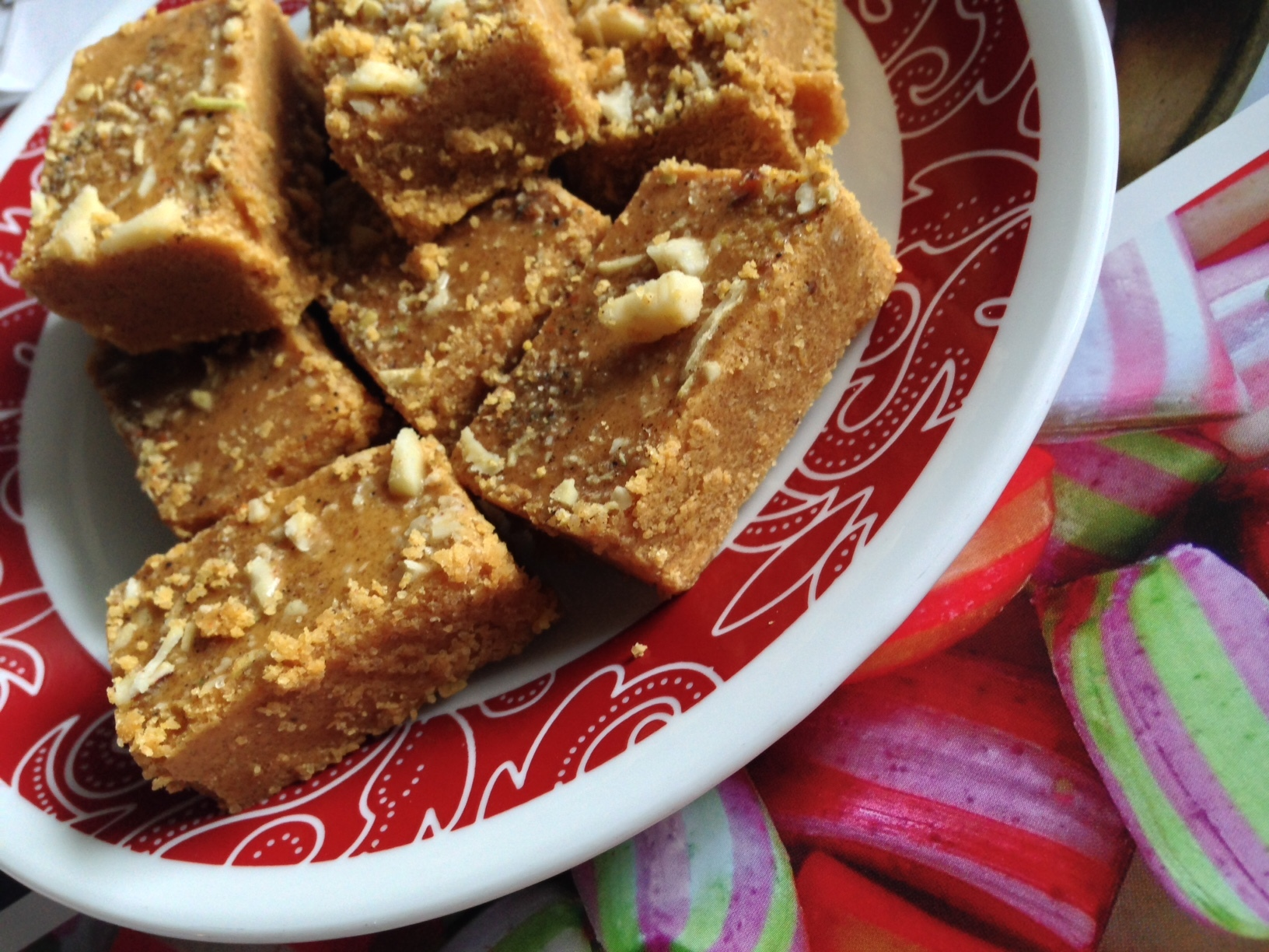 Besan Burfi – from the heirloom