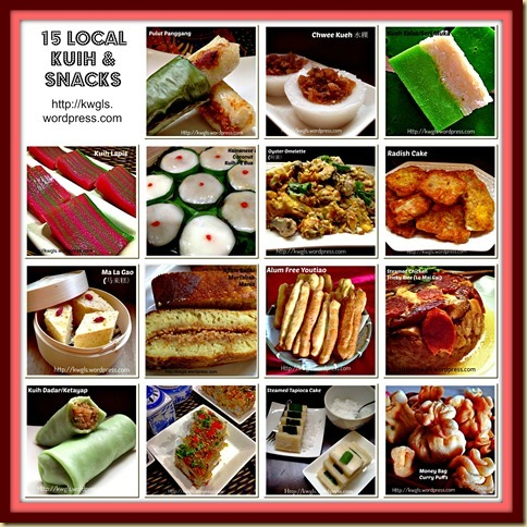 15 Local Singapore And Malaysian Kuih and Snack Special Compilation
