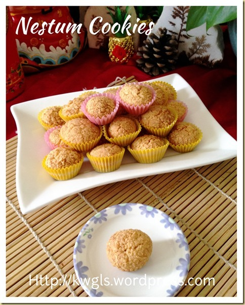 Nestum Cereal Cookies (麦片饼干)