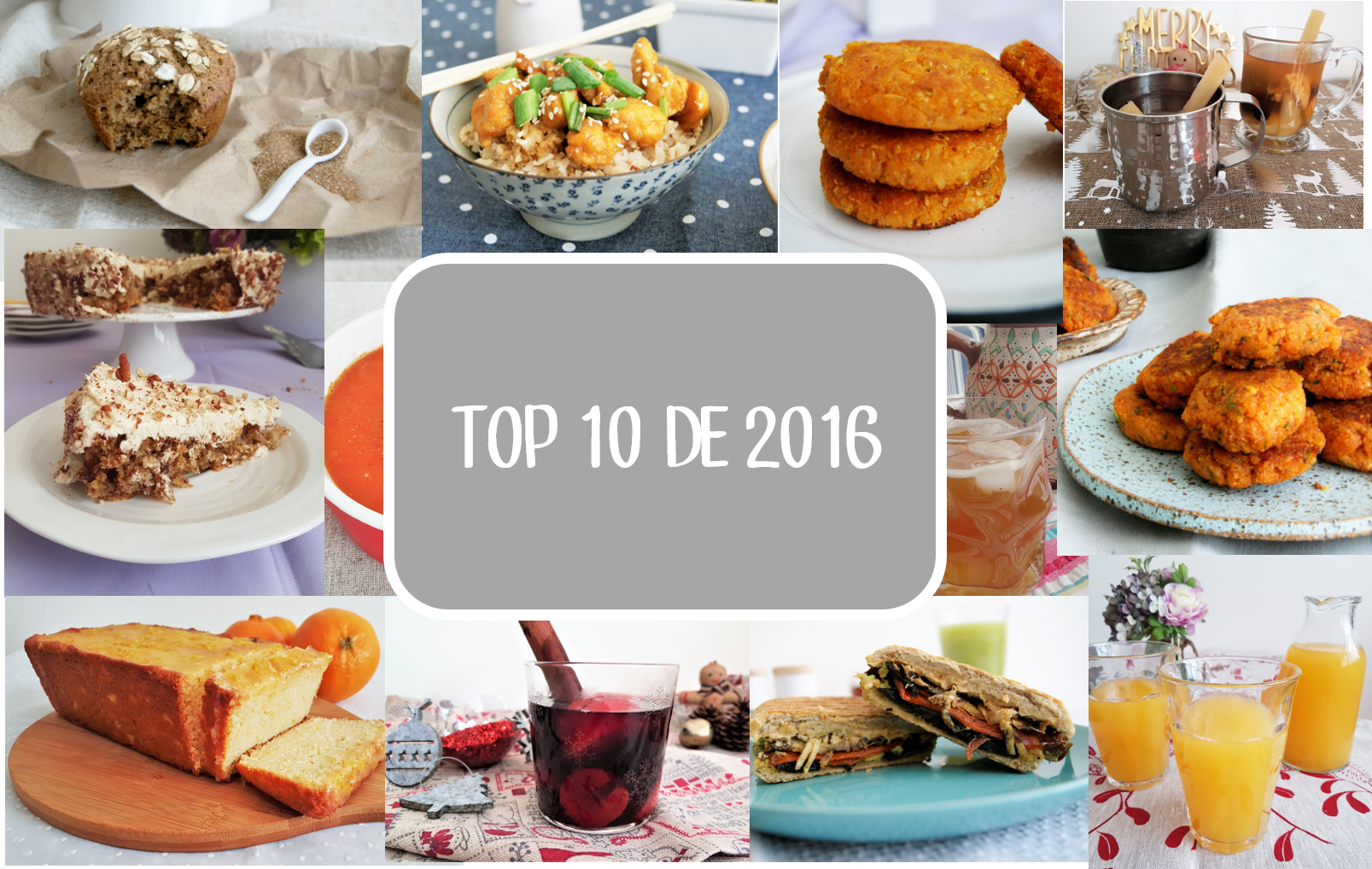El top 10 de 2016/ 2016 Top ten