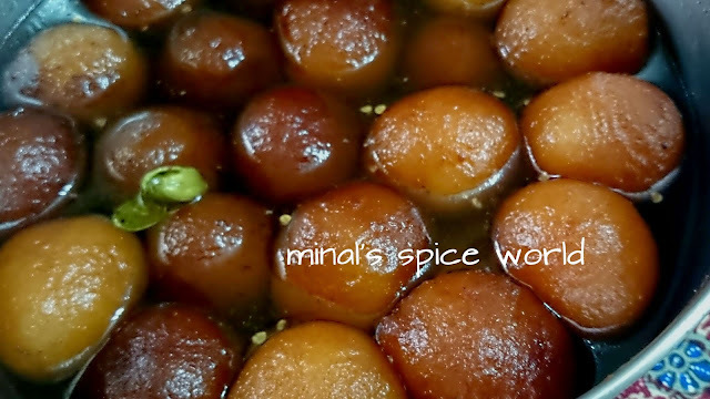 Powder milk gulab jamun | Quick recipe