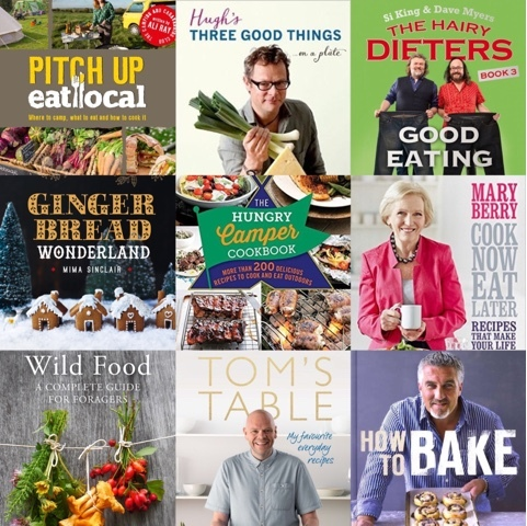 My Cookery Book Wish List with The Works