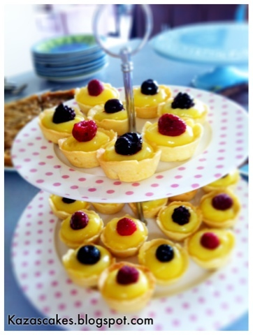 Little and Friday Lemon Tarts