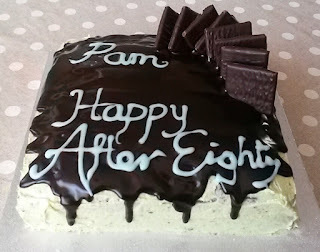 After Eight-y Birthday Cake - Recipe