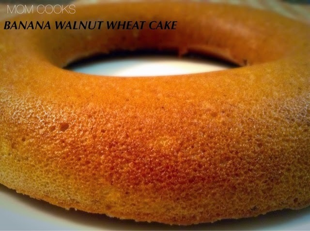 BANANA WALNUT EGGLESS WHEAT CAKE