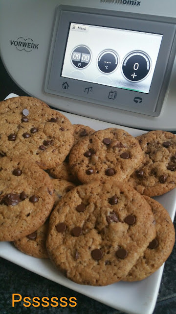 COOKIES CON CHOCOLATE EN THERMOMIX ®