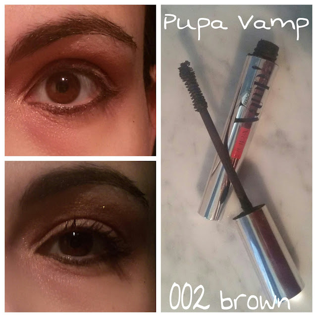 REVIEW ¤ Pupa Vamp mascara 002 brown