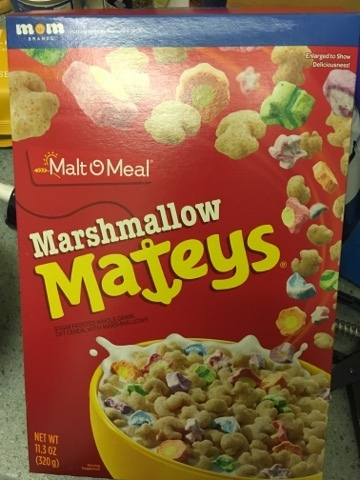 Malt O Meal - Marshmallow Mateys - Asda (by @NLi10)