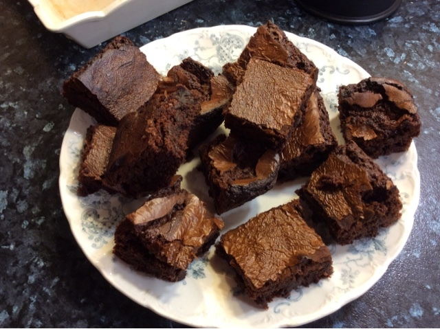 Gluten free chocolate brownies for 8p each
