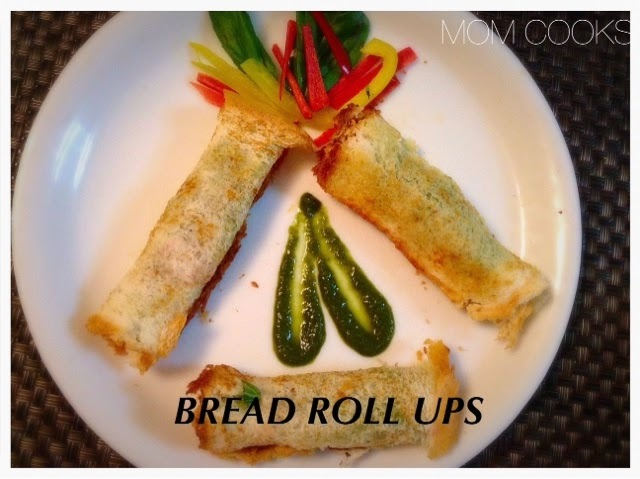 BREAD ROLL UPS