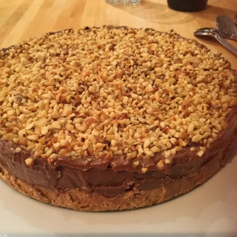 Nigella Lawson's, Nutella cheesecake with toasted hazelnuts