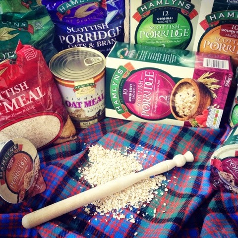 Hamlyns of Scotland - Porridge Oats, Oatmeal & Giveaway