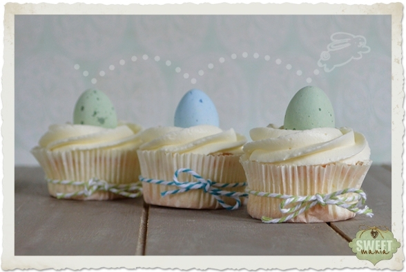 Angel Food Cupcakes (Nubes de primavera)