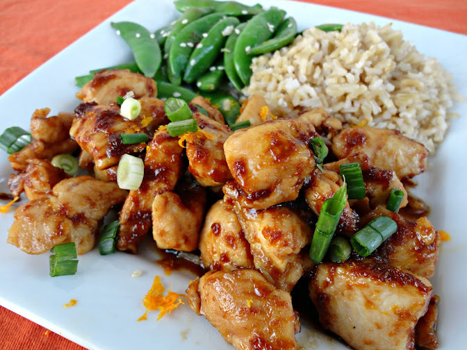 Paleo Orange Chicken