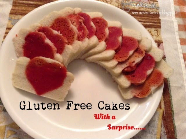Gluten Free Cakes -with a surprise!!