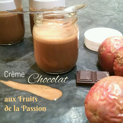 THERMOMIX: Crème Chocolat aux Fruits de la Passion