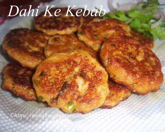 Dahi Ke Kebab Recipe -- How to make Dahi Ke Kebab Recipe