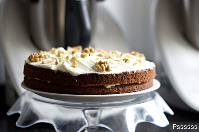 CARROT CAKE EN THERMOMIX ®