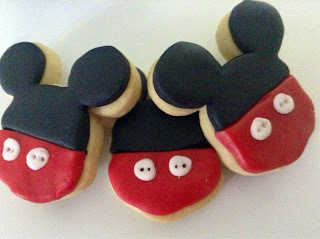 Galletas de Mickey Mouse.