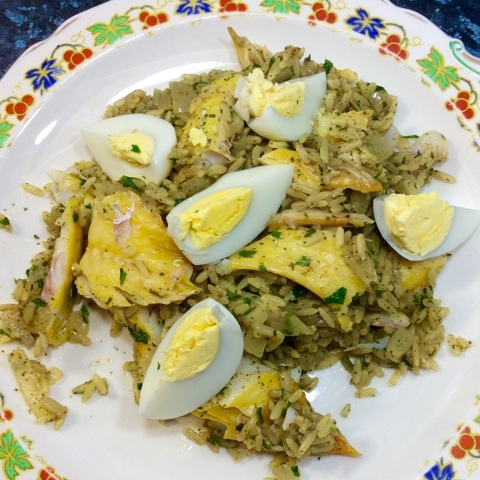 Kedgeree, not just for breakfast