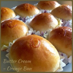 Sweet Orange Butter Cream Bun 香橙奶油馅餐包